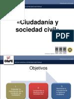 4. Ciudadania y Sociedad Civil