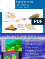 Heat Transfer in the Atmosphere