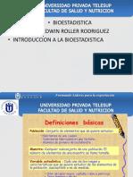 Biostadistica 1 Clase
