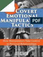 30 Covert Emotional Manipulatio