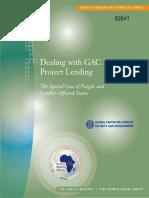 Banco Mundial Gobernanza y Conflicto