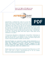 Asteroid Day Press Release _Poster