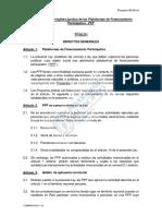 Ley que regula el régimen jurídico de las Plataformas de Financiamiento Participativo en Perú