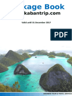 Kakabantrip Package Book 2017