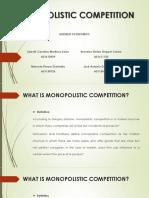 Competencia Monopolistic
