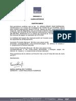 Certificado Laboral 16892701