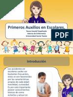 Educación Primeros Auxilios