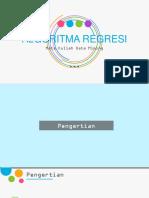 Algoritma Regresi