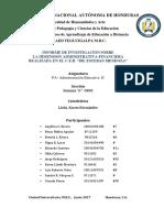 Informe de La Dimension Financiera y Organizativa Escuela Esteban Mendoza Sandro (1)(1)