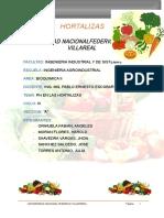 PH y Acidez en Las Hortalizas