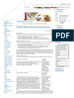 ISO 9001_2008 Quality Management System Training