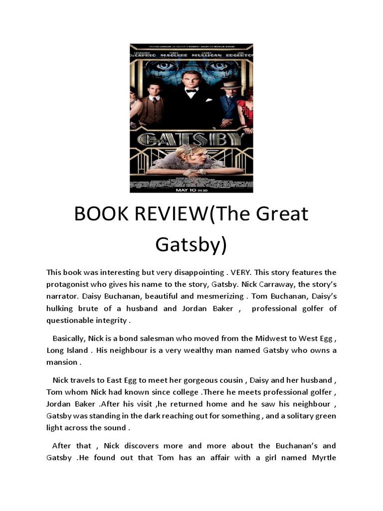 Keat Tung -Great Gatsby | The Great Gatsby | Fiction