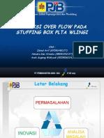 Proteksi Over Flow Pada Stuffing Box Plta Wlingi