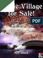 D&D5e - Magic Village for Sale