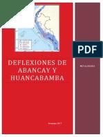 Deflexion de Abancay