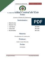 Rafael Severino, Licencia y Permiso de Construccion