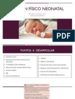 Examen Físico Neonatal