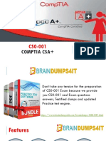 CS0-001 Braindumps