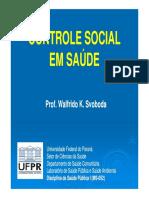 Aula 6 Nova Controle Social Em Saude Modo de Compatibilidade