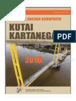 Statistik Daerah Kabupaten Kutai Kartanegara 2016