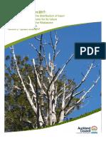 Kauri Dieback Report 2017
