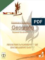 Geografía (1) Prog.2015