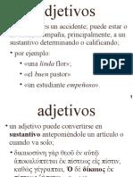 Griego Bíblico II - Clases 01 - Adjetivo 1