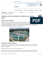 Graphene and water treatment