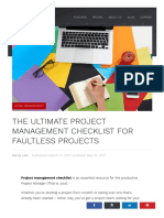 Project Management Checklist_Scoro