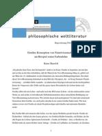 Goethes Konzeption Von Naturwissenschaft
