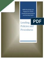 Lending Policies 2017