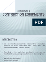 CPM 4 - Construction Equipments