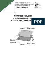 Disc. Nº 5. Capacitores y Dieléctricos.docx