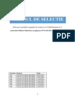 Planul de Selectie CARE Romania SA 003 2