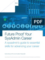 Future Proof Your SysAdmin Career