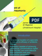 Legionella Treatment