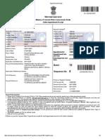 Sachin Thomas Pavanathara Passport Application Print