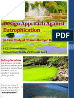 Design Approach Against Eutrophication