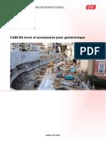 313 Cables-Toron Et Accessoires Pour Geotechnique