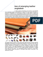 A Quick Review of Emerging Leather Sector of Bangladesh