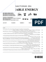 IEEE Transactions on Sustainable Energy July 2017