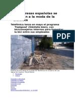 Artp-Empresas -Moda de Las Bicicletas