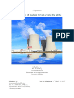 Present status of nuclear power around the globe