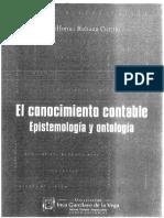 Conocimiento Contable Epistemologia