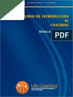 Manual de Introducción al coaching