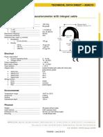 Tds3052 June 2012 d - Ash215 Accelerometer Data Sheet Gb