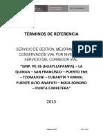 TDR CP 0054-2015