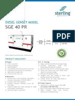 SGE40PR