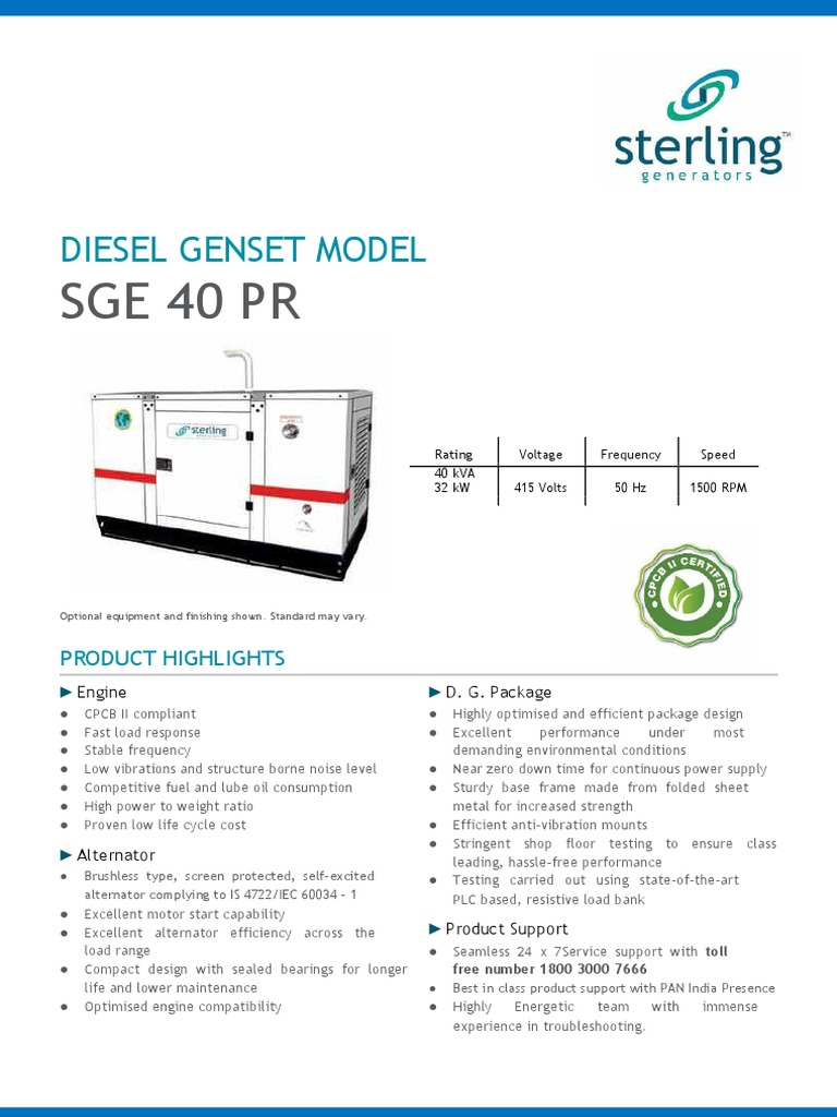 Sge40pr diesel engine electric generator cheapraybanclubmaster Image collections