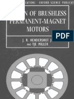 A11. Design of Brushless Permenant Magnet Machines